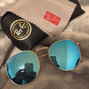 Round Flash Ray Ban Glasses